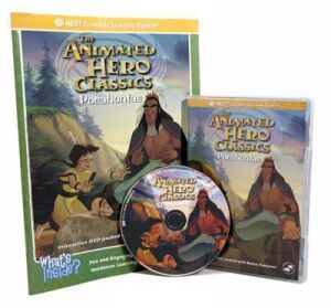 The Animated Story Of Pocahontas Video On Interactive DVD | Teach kindness, loyalty, unselfishness  andmany other positive traits through the Nest Learning DVD about the life Pocahontas. | NestLearning.com