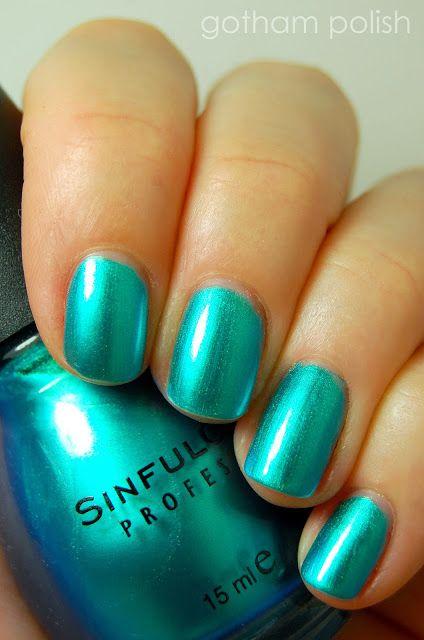Top 5 Summer 2013 Nail Polish Trends: metallic ocean