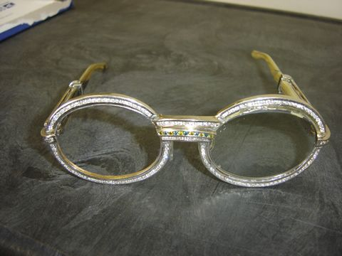 e8952e9591 Diamond Cartier glasses