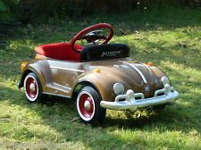 1960 Steel Pedal Car Custom Brown Bug