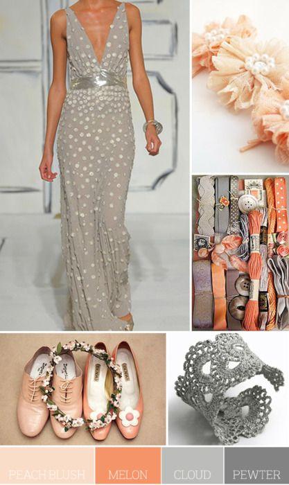 LOVE the dress & color scheme