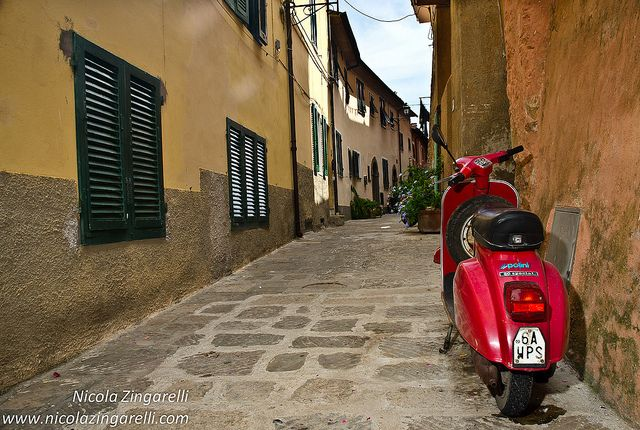 To Do: #Travel around #Italy on a #Vespa.