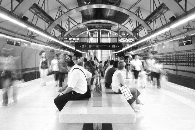 #metro #subway #underground #train #station #city #tube #travel #vsco #urban #architecture #people #blackandwhite #streetphotography #ubahn #metrostation #picoftheday #metropolitan #instagood #love #photooftheday #transport #trains #метро #sub #subwayart #transit #sbahn #tunnel #trainstation