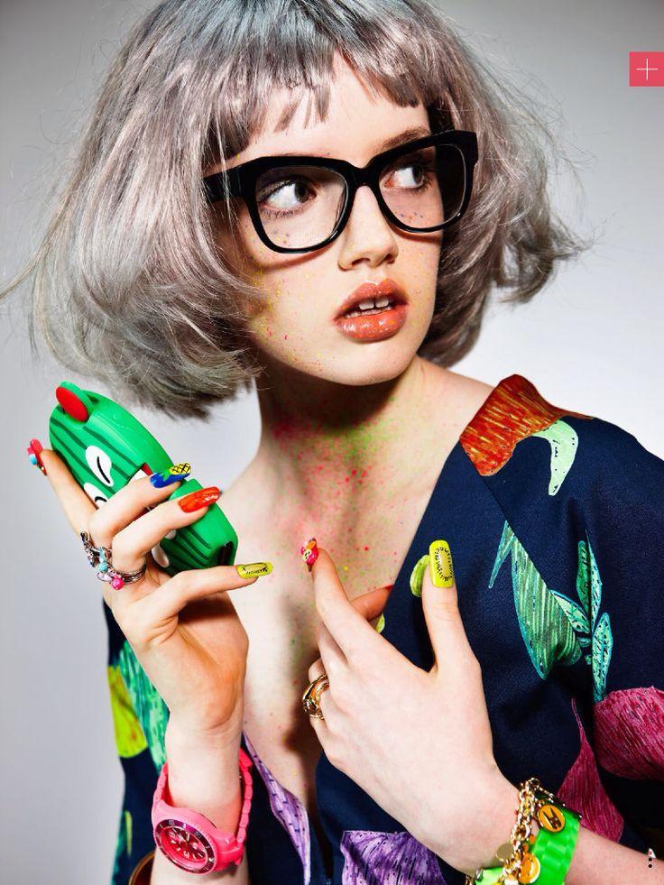 POP ART hair & mkup:  Verity Griffiths nails:  Leah Light