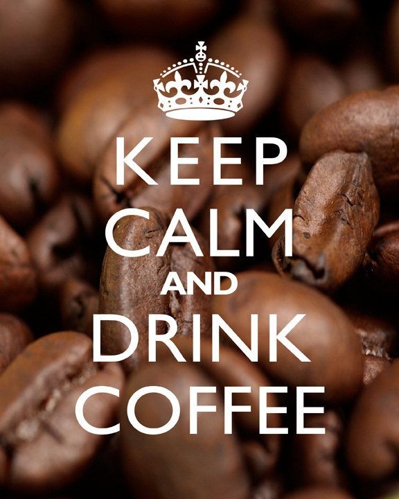 Keep+Calm+And+Drink+Coffee++8x10+Art+Print+Beans+by+cjprints,+$12.99