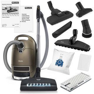 Shop for Miele Complete C3 Brilliant Canister HEPA Vacuum Cleaner   SEB-236 Powerhead   XL Parquet Floor Brush   Combination Floor Brush. Get free shipping at Overstock.com - Your Online Housewares Outlet Store! Get 5% in rewards with Club O!