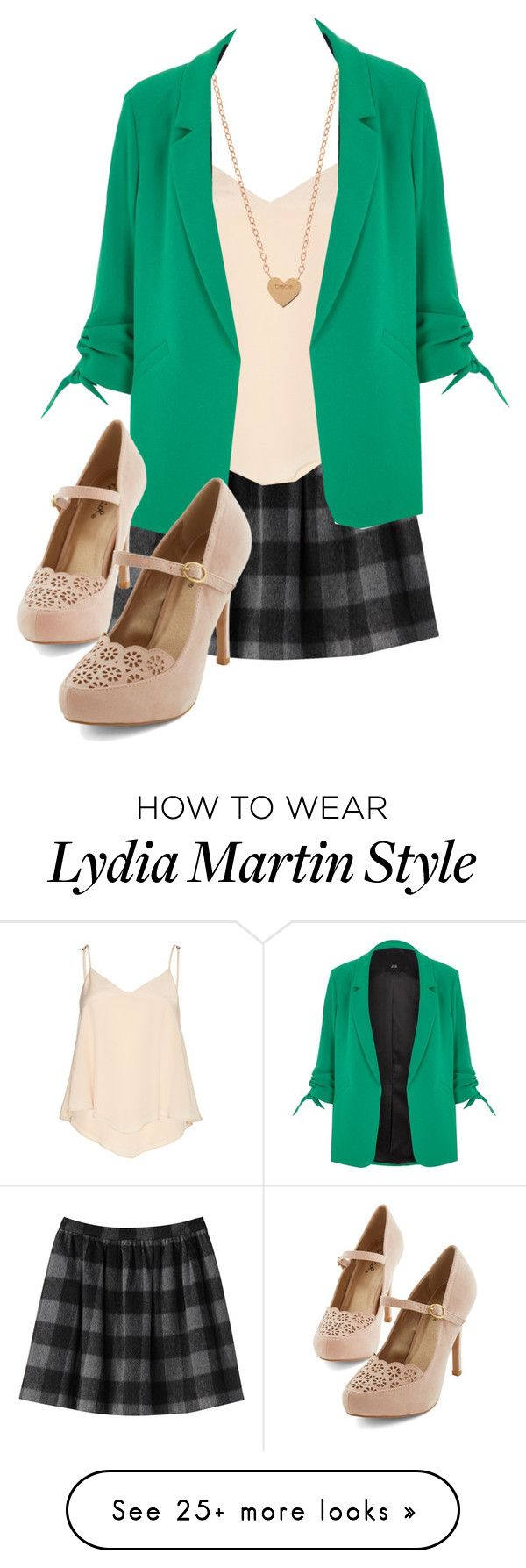 """Lydia Martin"" by samtiritilli666lol on Polyvore featuring Alice + Olivia and River Island"