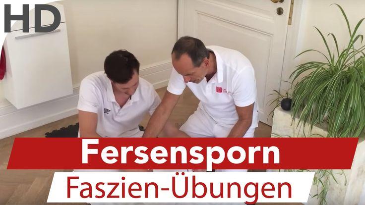 Faszien Übungen gegen Fersensporn. In dem Video zeigt Schmerzspezialist Roland Liebscher-Bracht einfache Faszien Übungen um die Schmerzen auf Grund eines Fer...