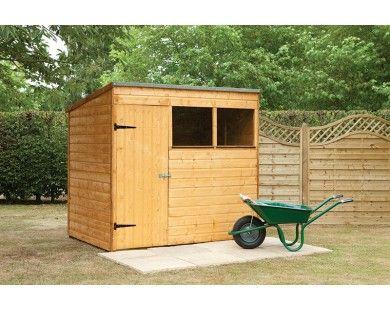 7 x 5 shiplap pent shed - Garden Sheds 7x5