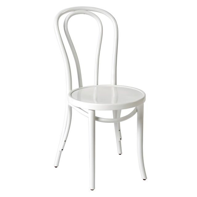 Bentwood Chair No18 White - Made in Poland - Classic Michael Thonet Design - Available at JMH Furniture   Delivery Australia wide