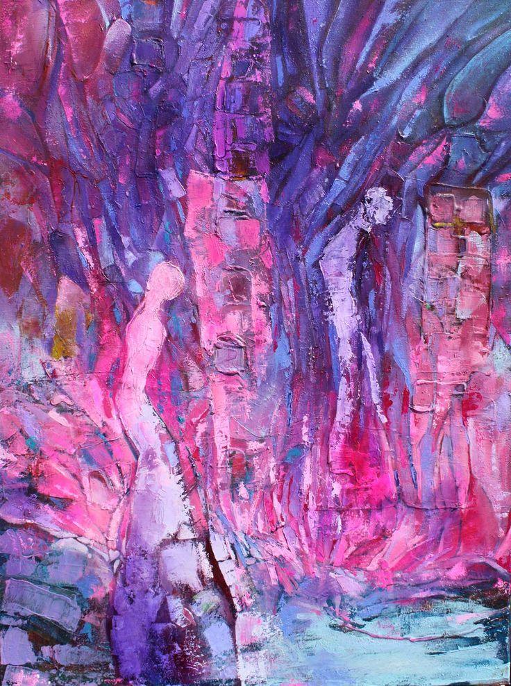 Melancholia, 80x60 cm 3d, 2011,oil on canvas, Barbara Hacura