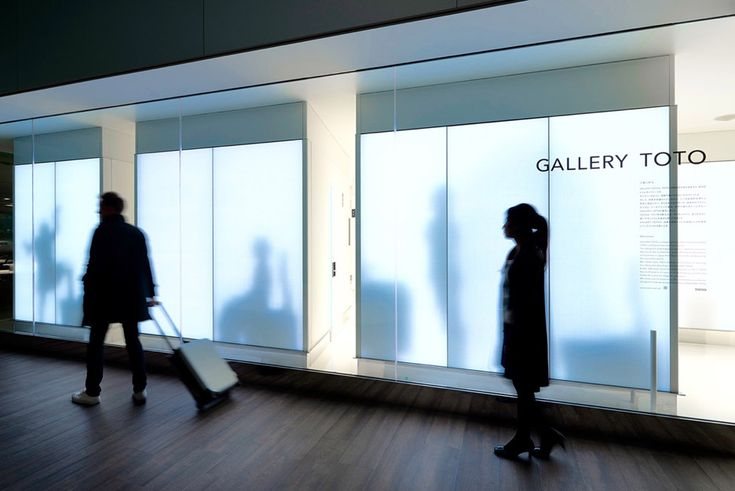 Gallery TOTO at Narita Airport by Klein Dytham