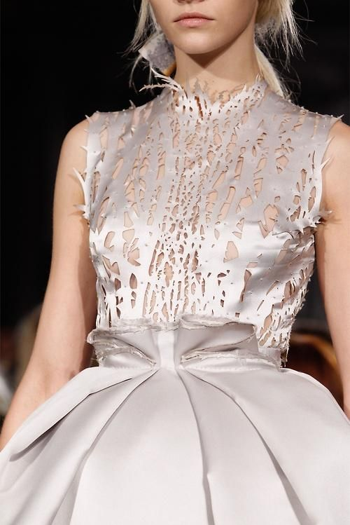 trend | laser cut details this seems to have caught everyone's eye as a designer and fan of fashion