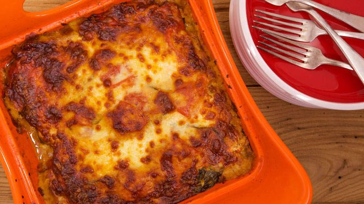 Ratatouille Lasagna Recipe  -  This comfort food is gluten-free, vegetarian, good and good for you!
