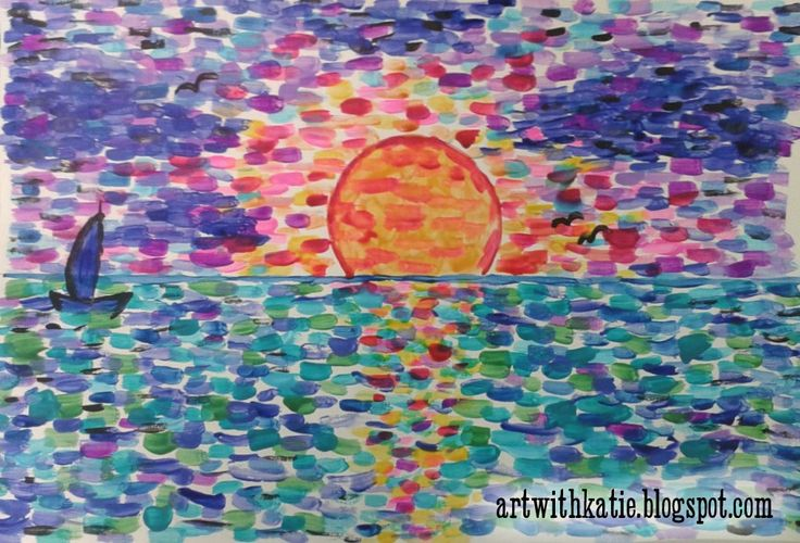 Art With Katie: Art for Kids: Paint Like Monet