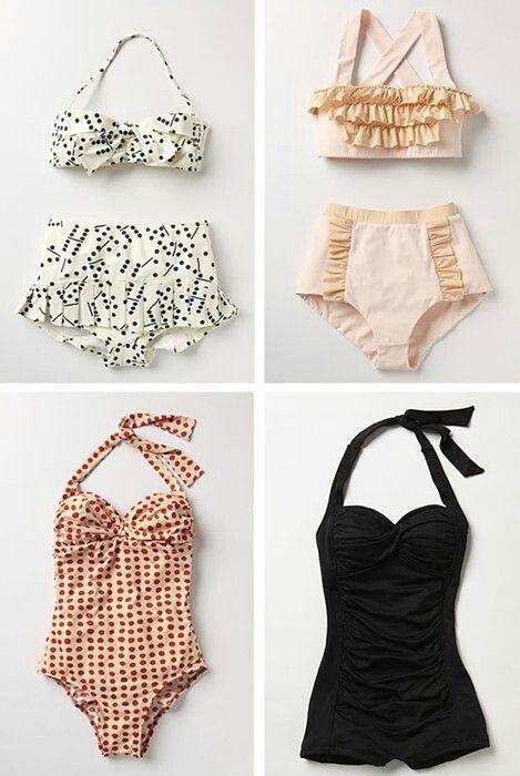 Vintage swimwears