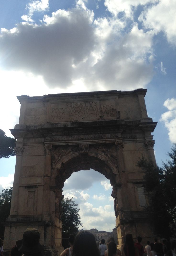 The Arch of Titus, day 3.