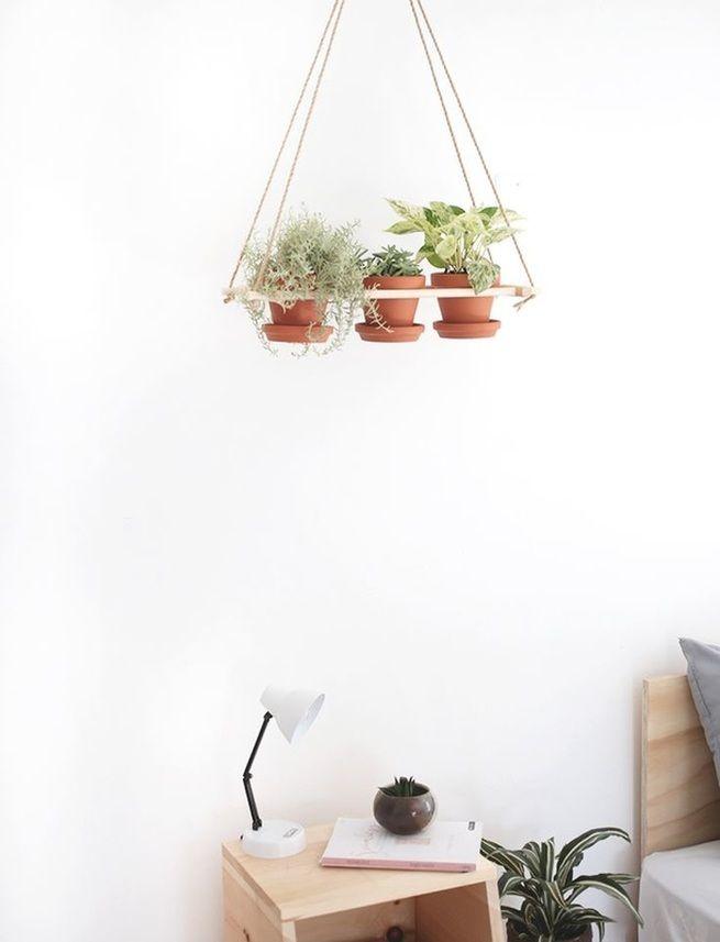 DIY Hanging Planter #tutorial #summer #home #diy
