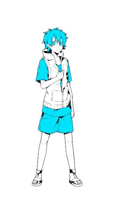 Hibiya Amamiya (雨宮響也 Amamiya Hibiya) es el octavo integrante del Mekakushi-Dan. Junto con Hiyori fue atrapado en el bucle día del 15 de agosto. Hibiya es un joven con el pelo corto de color cafe claro y ojos marrones. Él lleva un chaleco blanco con una capucha sobre una camisa azul. Él también lleva pantalones cortos de color marrón y sandalias negras.