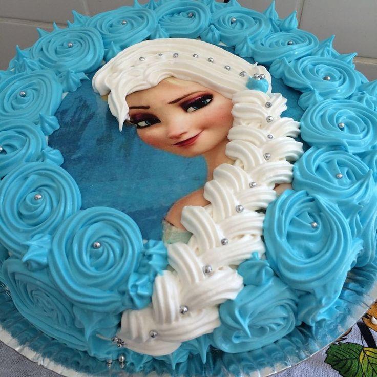 Bolo Elsa - Frozen - Gi Ribeiro Doces & Guloseimas