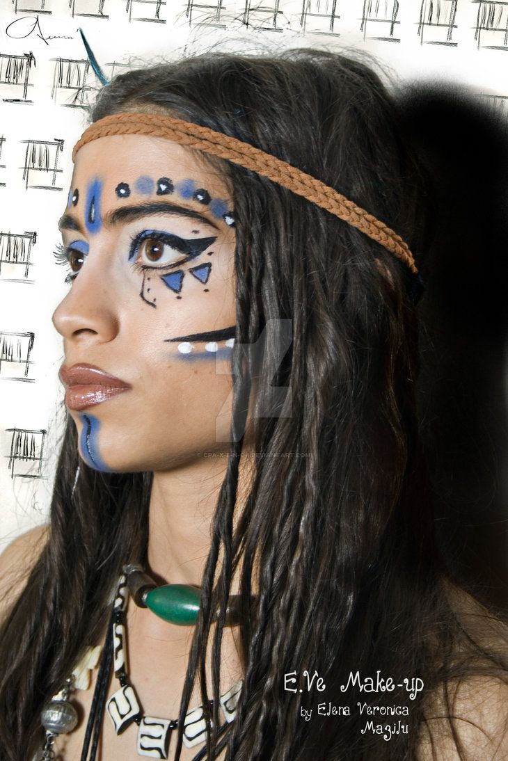"""""""Warrior Princess""""-Tribal Make-up MUA/Model: E.Ve Make-up(by Elena Veronica Mazilu) Photography/editing: C.P.Axenoi E.Ve was truly inspired in the moment of """"creation"""" by the inka tribal warriors b..."""