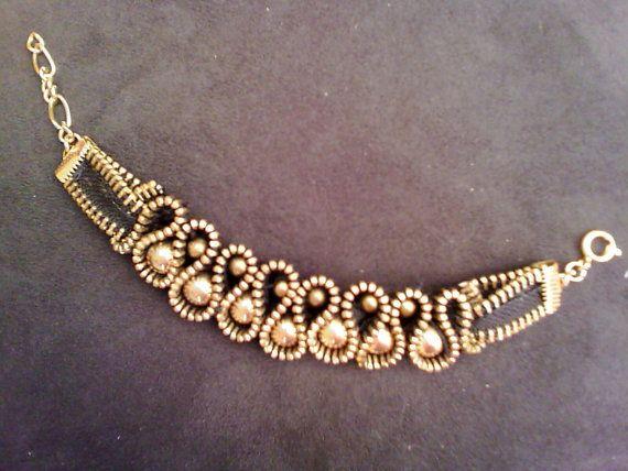 zipper bracelet by hipbo on Etsy                                                                                                                                                      More