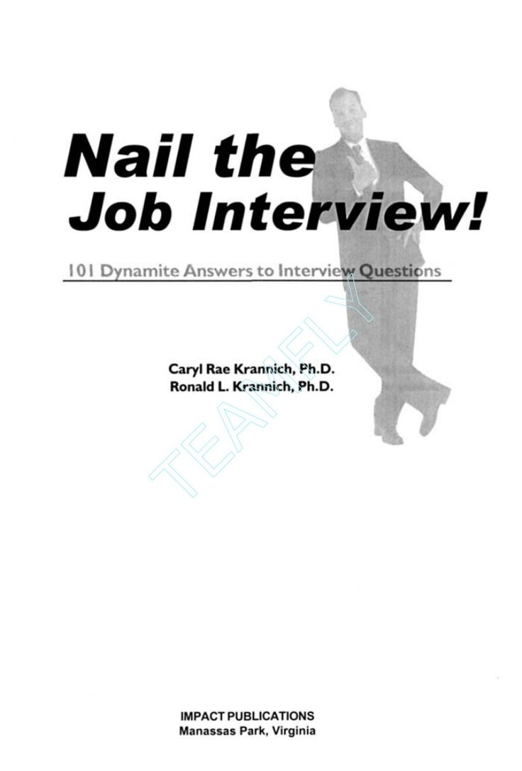 17 best ideas about answers to interview questions ebook resume job interview 101 dynamite answers to interview questions 1 57023