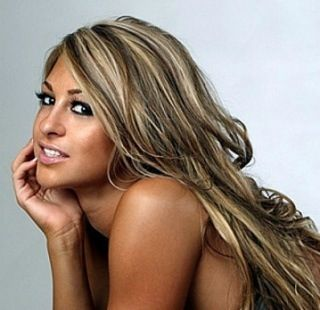 Brown and blonde highlights. Looks SO GOOD with a tan!!!!