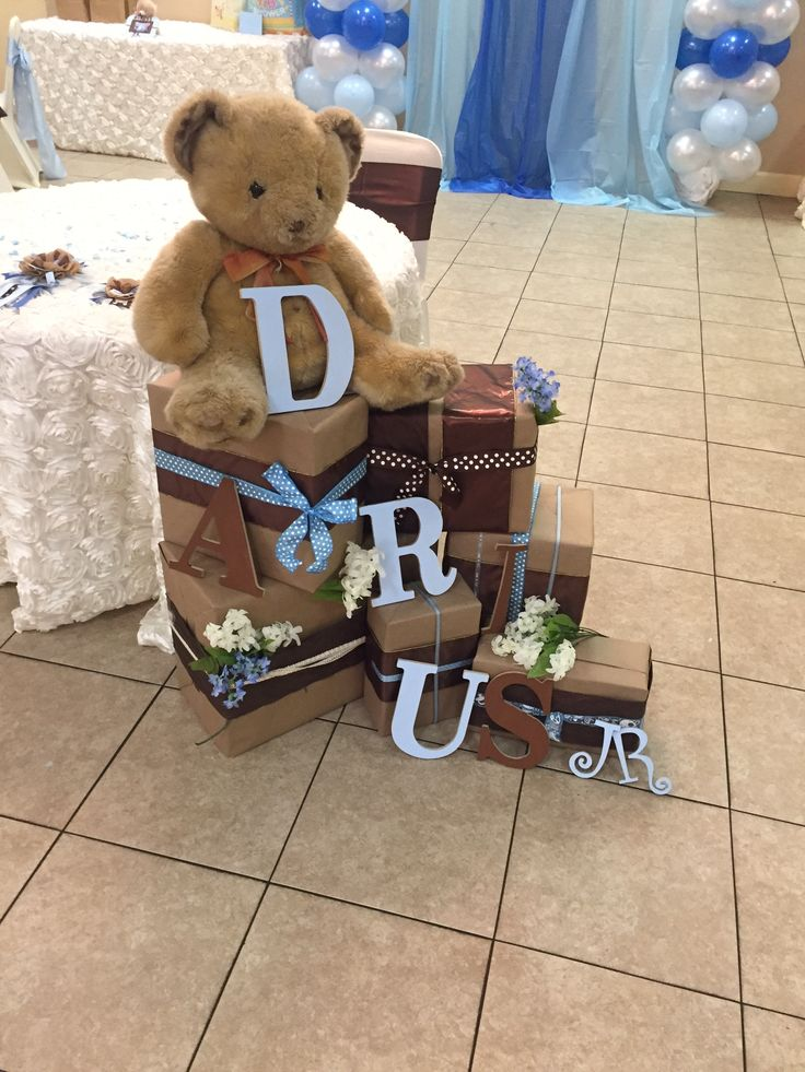 Teddy Bear Theme Baby Shower!