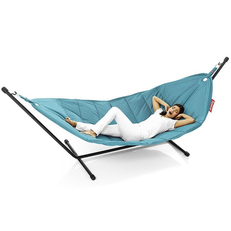 Fatboy+Headdemock+Hammock+-+Oversized+luxurious+comfortable+hammock+that+can+be+used+as+a+seat+for+1+or+2. Whether+you+are+sipping+cocktails+in+a+sunny+garden+or+reclining+indoors+imagine+two+palm+trees+where+the+support+frame+is+and+you+can+relax+and+float+like+a+feather.