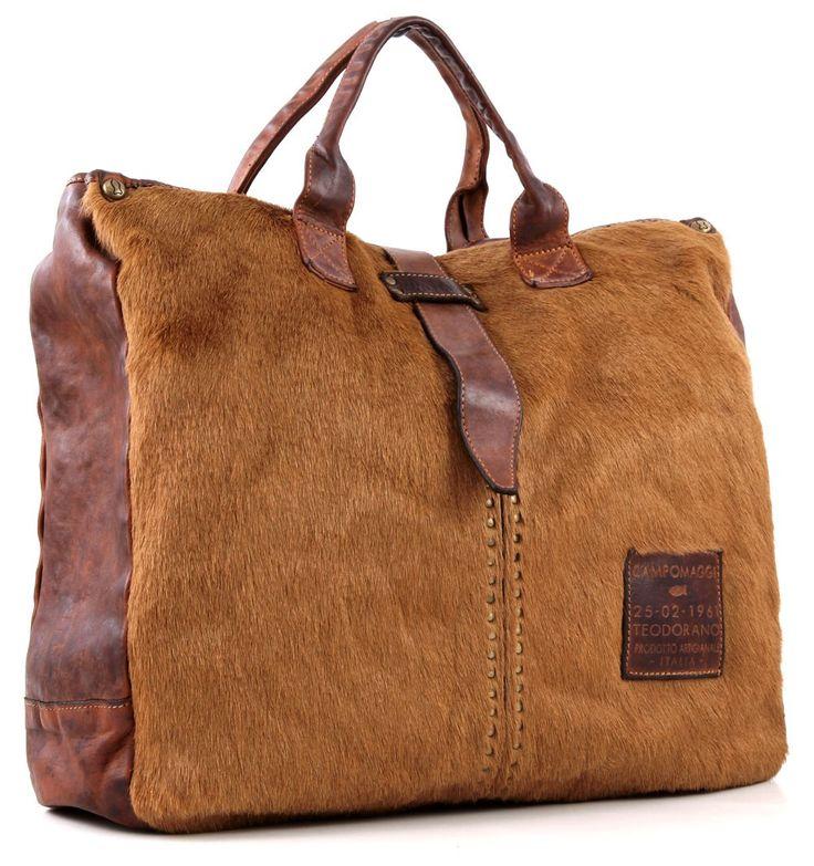 Campomaggi Tote leather 40 cm - C06032VLCV | Designer Brands :: wardow.com