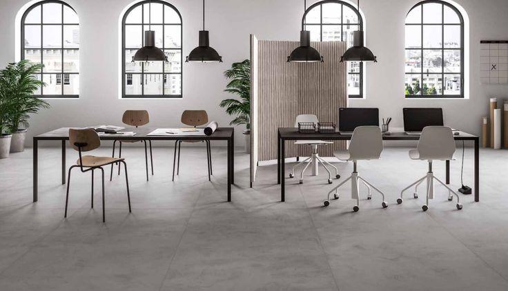 Een cementlook die anders is dan het gebruikelijke industriële betonvloer. Het lijkt meer op een oude ambachtelijke cement vloer. (37-RF-02) In de volgende maten verkrijgbaar: 120x240, 120x120, 60x120, 60x60, 30x60. (tegelvloer, vloertegel, hal, woonkamer, plavuizen, keramisch, tegels), Tegelhuys