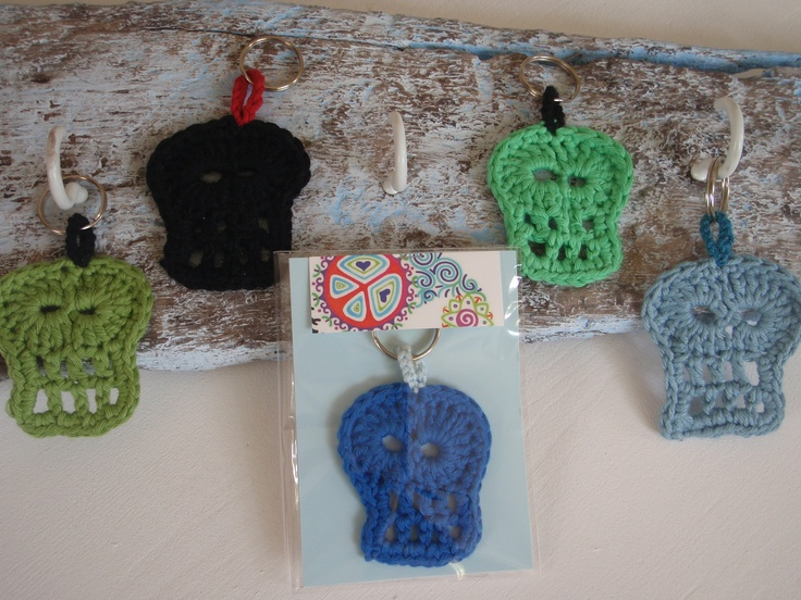 Skull keyrings £5.00 www.facebook.com/pages/BettyBetty-Design/246083645405185