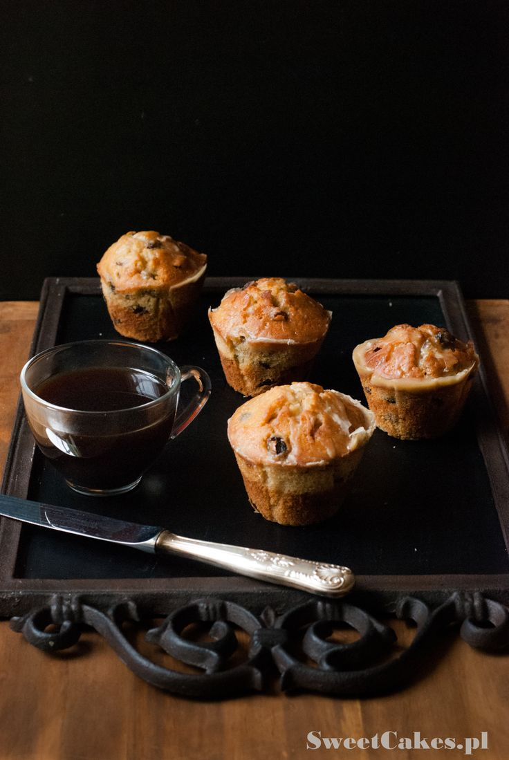 muffiny z rodzynkami raisins muffins