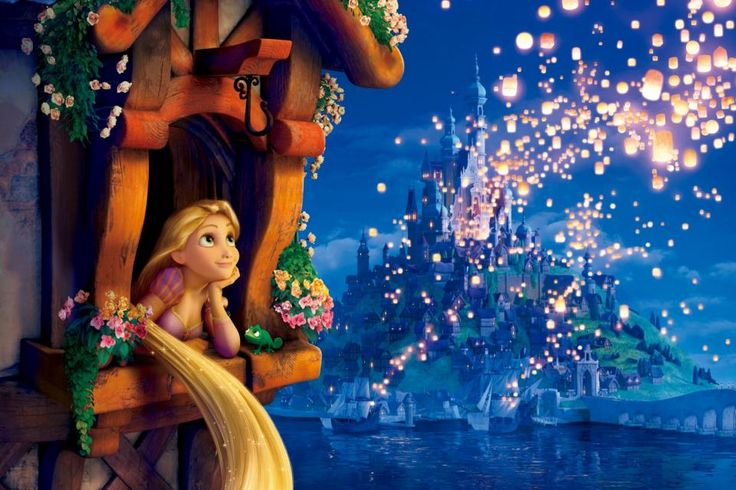 Disney Rapunzel Painting | Dibujos para Niños