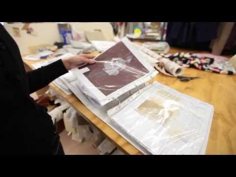 Creative spaces: Inside the wardrobe department - YouTube