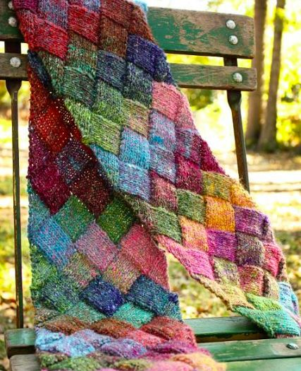 Instead of turning to purl the next row, knit that row backwards, producing the same results. Here are a few ways that knitting backwards is handy.