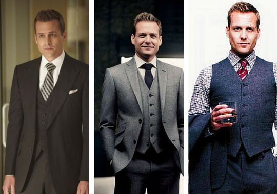 Men of Style: Harvey Specter (Gabriel Macht, Suits TV-show)