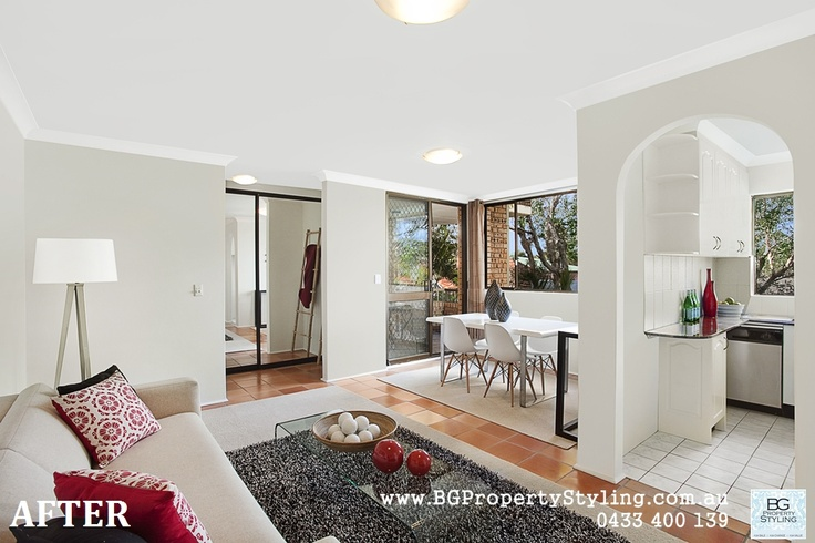 The BG Property Styling team recently had the opportunity to work on a one-bedroom apartment in a fabulous location at Cammeray.    Here are some tips on How To Add $30,000 To Your Property in 1 Weekend http://bgpropertystyling.com.au/home-styling/how-to-add-30000-to-your-property-in-1-weekend/