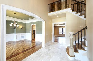 front entrance, starirs, floors, painting, lighting, molding, railing, home, house, renovations, improvement, beautiful