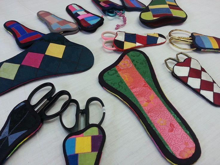 Beautiful scissor cases