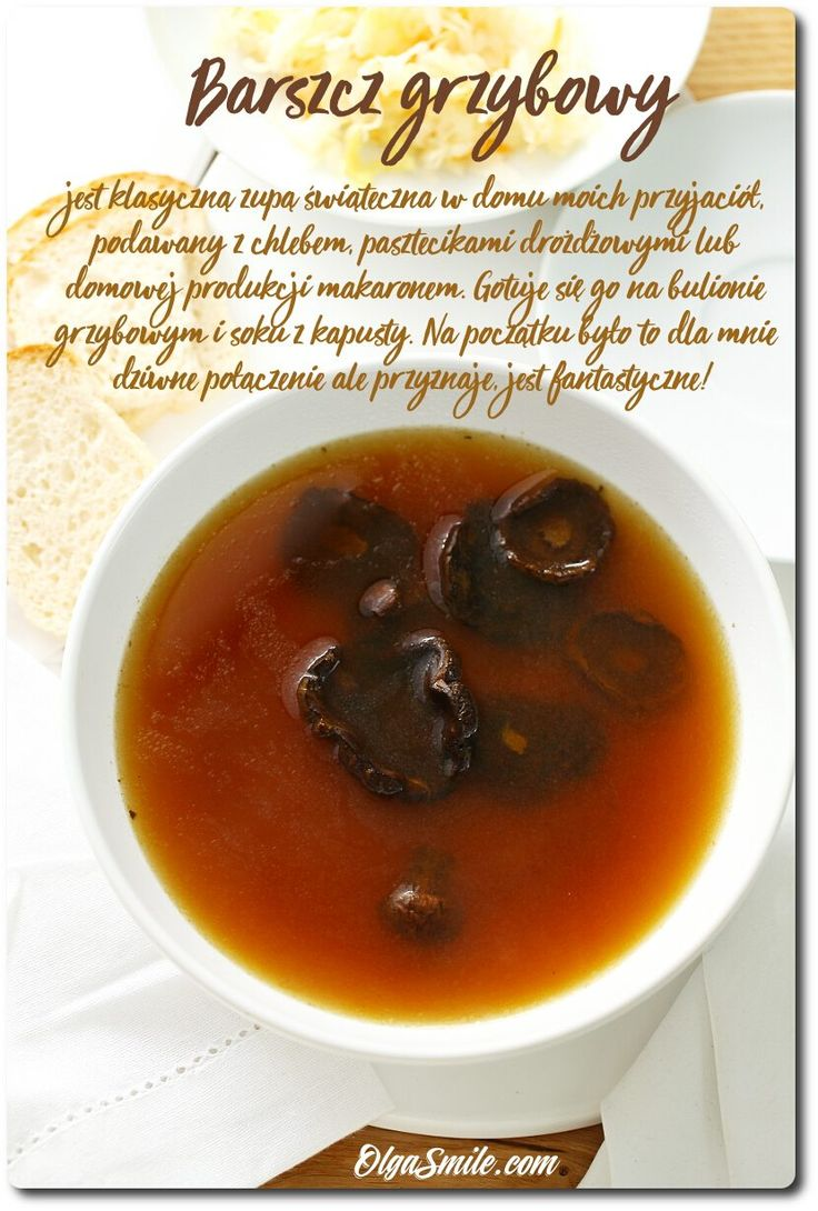 Mushroom soup - Chicken soup with mushrooms