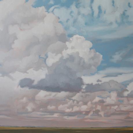thumbnail for Karoo III Phillip Barlow cloud painting