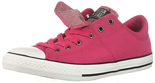 Converse Girls' Chuck Taylor All Star Maddie Glitter Leather
