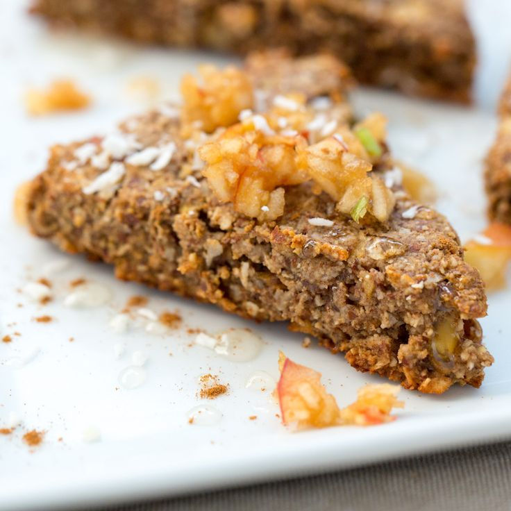 Who needs cereal when you have these #glutenfree Apple Cinnamon Scones?