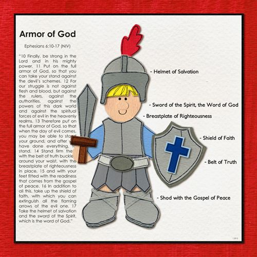 Armour Of God Vbs Crafts