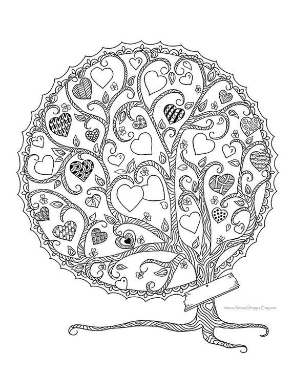 Family Tree Artwork Printable Perfect For Mother S Day Or