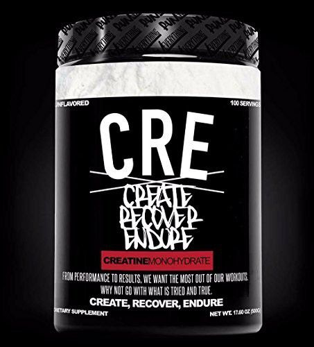 CRE | Create Recover Endure | Creatine Monohydrate | Run Everything Labs | 500 grams | 100 Servings