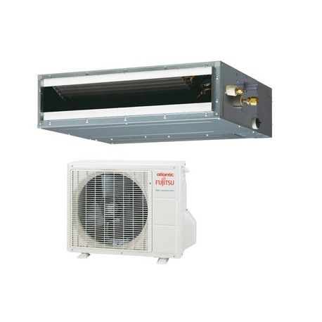 Climatisation Gainable Carrossable Réversible DC Inverter Atlantic Fujistu ARYG. Modèles, gammes, prix et combinaisons expliquées ici