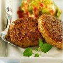 Hamburguesas de lentejas y zanahorias | #Recetas de cocina | #Veganas - Vegetarianas ecoagricultor.com